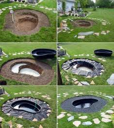 diy backyard pond ideas 20 diy backyard pond ideas on a budget that you will