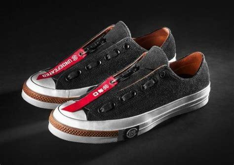 Sepatu Converse X Undefeated undftd x clot x converse chuck all release
