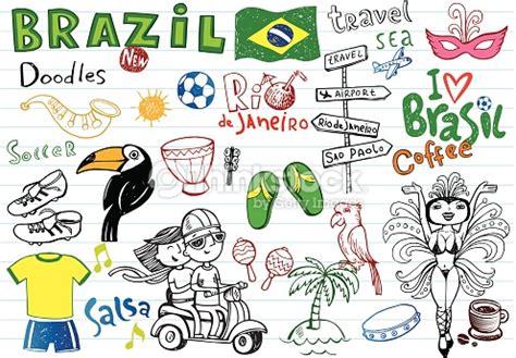 doodle 4 brasil doodles vector thinkstock