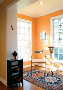what color goes with orange walls the underused interior design color how to use orange indoors