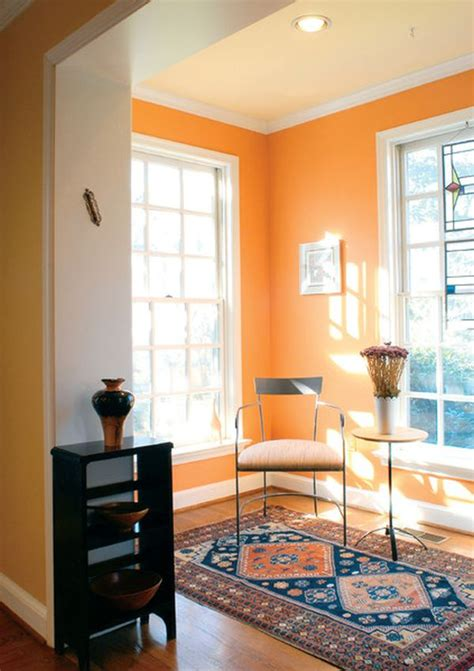 orange walls the underused interior design color how to use orange indoors