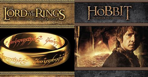 amazon lord of the rings amazon the lord of the rings and hobbit trilogy blu ray