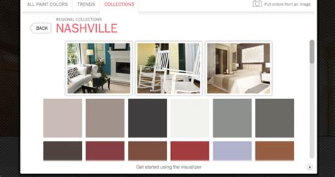 ppg color visualizer trends nashville the house painters