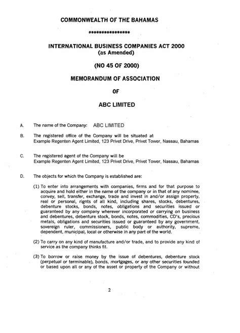 Template Memorandum And Articles Of Association xtranormal bill money essay xtra play n trade