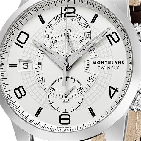 Montblanc Timewalker 109134 by Montblanc Timewalker Twinfly Chronograph Automatic
