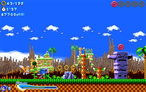 sonic fan made games sonic generations fan game green hill zone by
