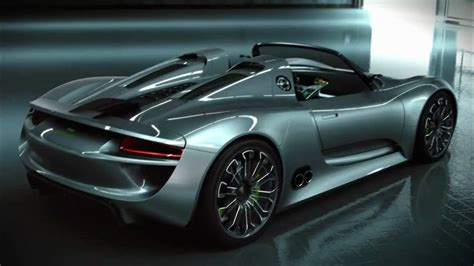 Porsche Spyder Concept by Porsche 918 Spyder Concept Development Youtube