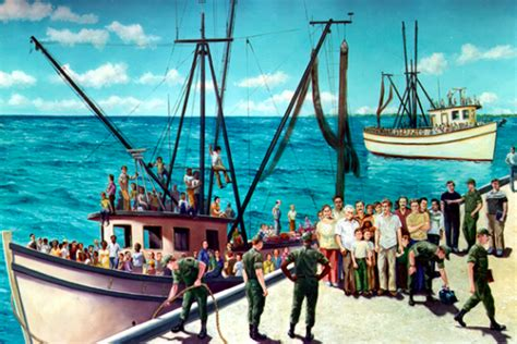 boat lift cuba mariel boatlift department of military affairs