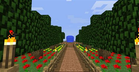 How To Make A Garden In Minecraft by Minecraft Mansion And Garden Minecraft Project