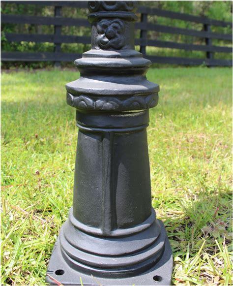 looking light fixtures garden newel post light fixture vintage style new walk way