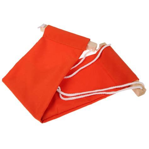 Meja Notebook Mini Hammock Tablet Foot Rest Pijakan Kaki Meja Orange