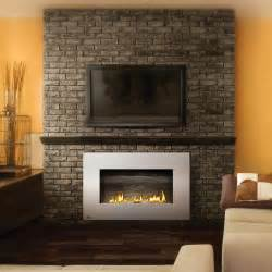 ventless fireplace modern