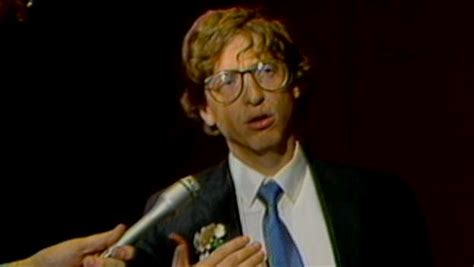 bill gates biography history channel history uncut bill gates unveils microsoft excel 1987