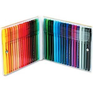 pentel color pens pentel point color pen set 36 assorted colors 36