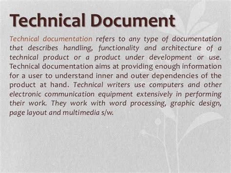 the product is docs writing technical documentation in a product development books technical document