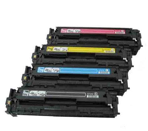 Toner Printer Hp Hp Color Laserjet Cp1515n Toner Cartridges Black Cyan