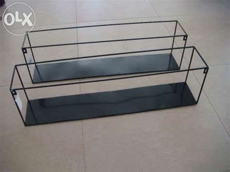 nowa czarna metalowa p243�ka ścienna p243�ka wisz�ca loft