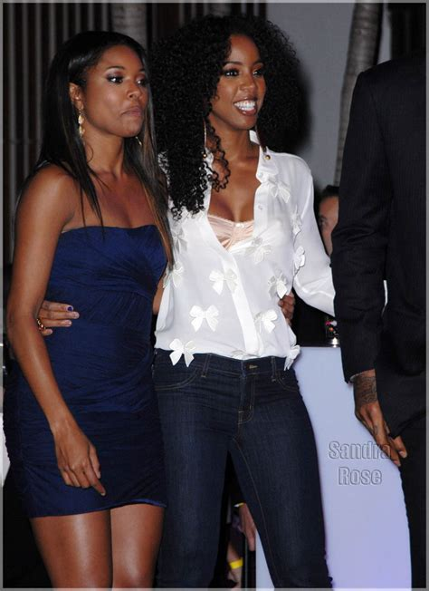 Gabrielle Union And Kelly Rowland At Dde  Ee  Th Ee    Ee  Birthday Ee