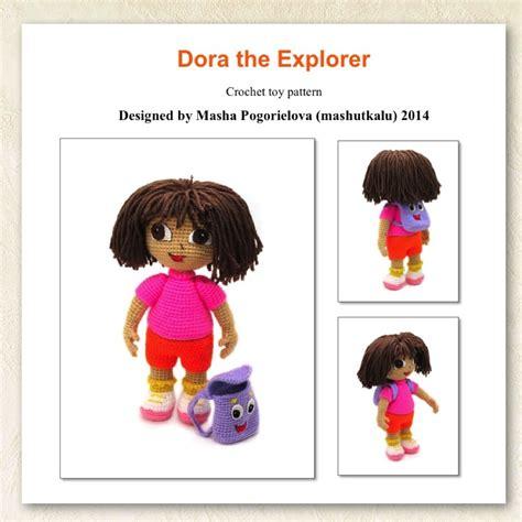 pattern explorer level 2 dora the explorer pdf crochet toy pattern