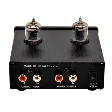 Fx Audio Vacuum Speaker Pre Lifier Hifi Audio fx audio mini 6j2 pre lifier stereo hifi buffer pre black au ebay