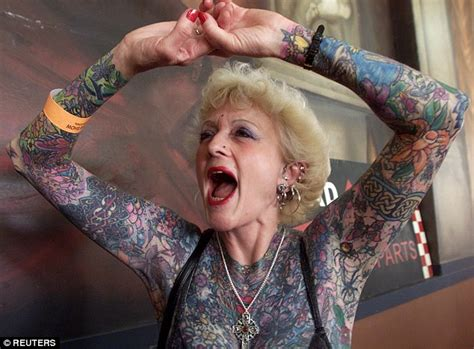 world s most tattooed pensioner isobel varley dies aged 77