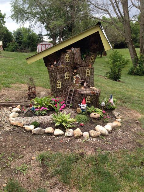 fairygnome house   fairy garden diy fairy