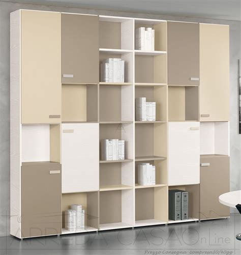 mobili per librerie libreria per ufficio componibile personalizzabile