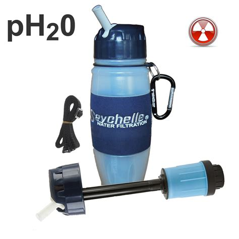 seychelle radiological filter seychelle ph20 water bottle as seen on jim bakker show