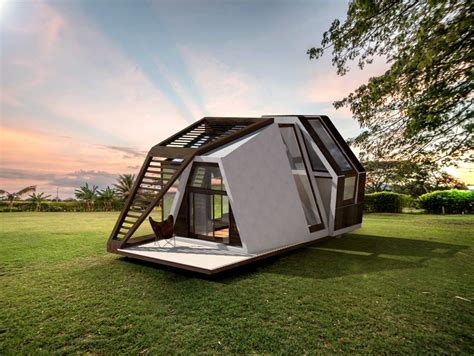 mobile home design uk a different kind of home delivery yanko design