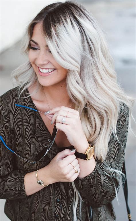 creating roots on blonde hair 5 pictures that will make you love dark roots blonde