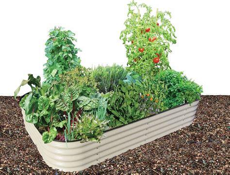 diy raised garden beds corrugated metal wood galvanized
