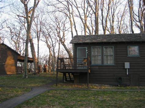 Lewis Mountain Cabins by Outside View Picture Of Lewis Mountain Cabins