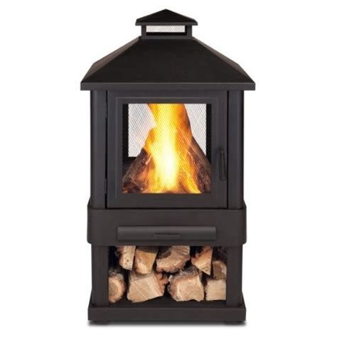 Real Outdoor Fireplace by Real Trestle Wood Burning Outdoor Pit By Real
