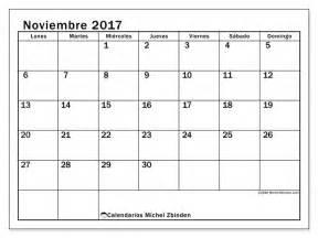 Calendario Lunar Colombia 2017 Noviembre Calendario Noviembre 2017 Para Imprimir Gratis