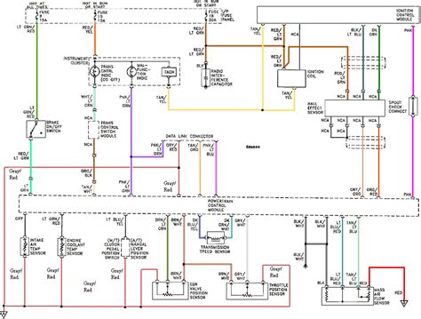 exterior lighting wiring diagram 94 04 mustang exterior