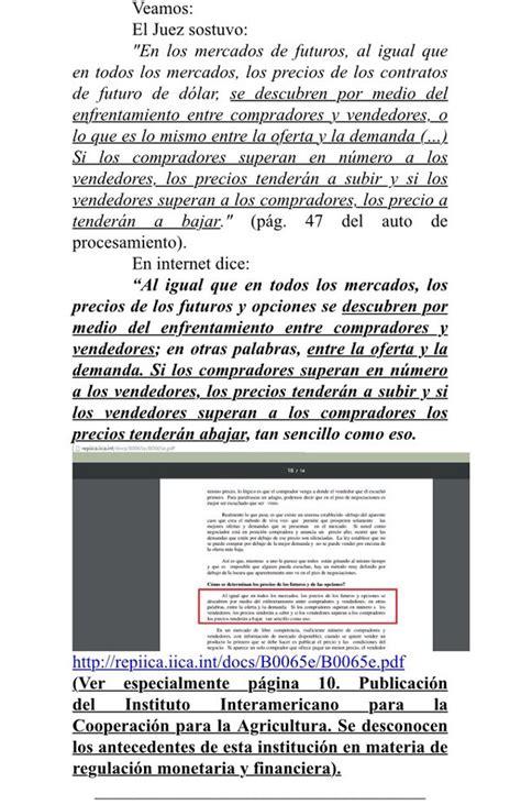 mensajes subliminales rincon del vago el juez federal claudio bonadio habr 237 a citado argumentos