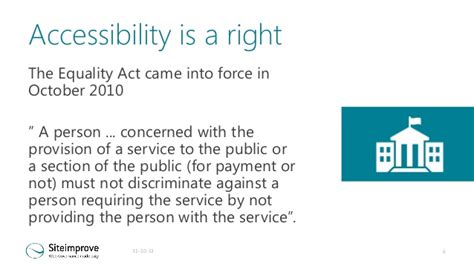 section 6 of the equality act 2010 siteimprove accessibility business case