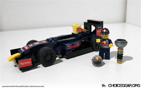 Car Garage Ideas by Lego Speed Champions Red Bull Rb12 F1 Car Choice Gear