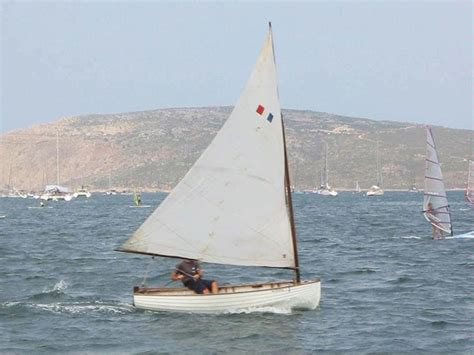 dinghy boat in spanish dinghy 12 olympic 1920 in minorca sailboats used 65556