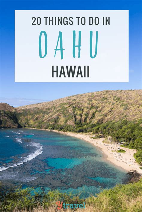 20 things to do in oahu hawaii for an amazing vacation