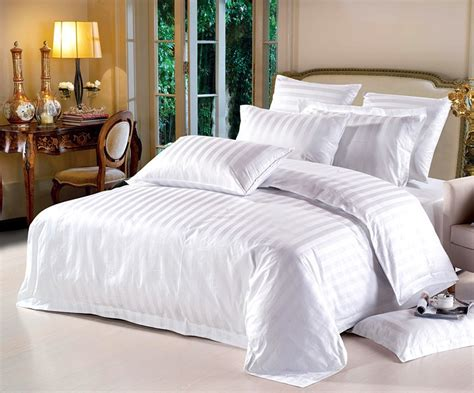 Hotel Bed Sets Free Shipping White Duvet Cover Hotel Bed Set High Quality