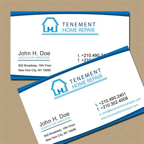 Home Improvement Business Card Template by Home Improvement Business Cards Images Business Card