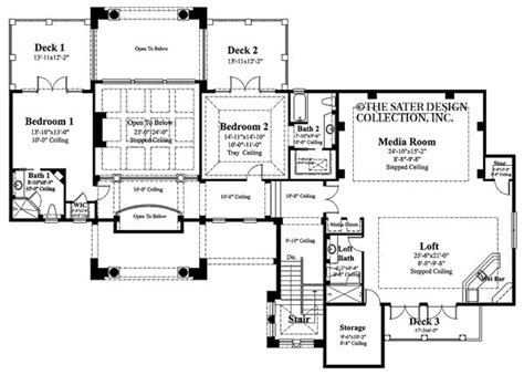 sater home plans cordillera sater design collection floor plans
