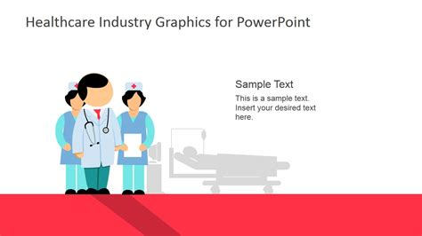 Healthcare Industry Graphics For Powerpoint Slidemodel Healthcare Powerpoint Template