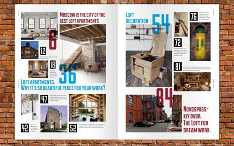 yearbook layout behance the loft magazine layout yearbook design ideas