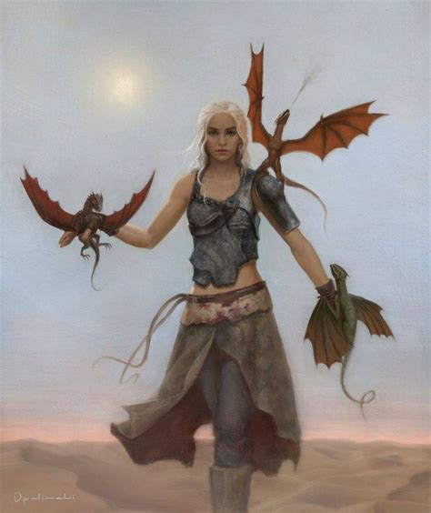 actress game of thrones dragon queen posters greg opalinski s mother of dragons daenerys