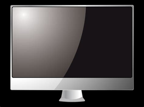 powerpoint design computer black monitor powerpoint templates black silver