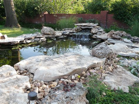 backyard pond building koi pond construction plans our ponds are built to last