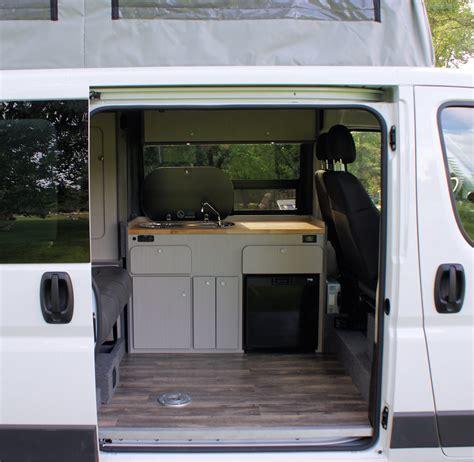 rent  promaster luxury camper rocky mountain campervans
