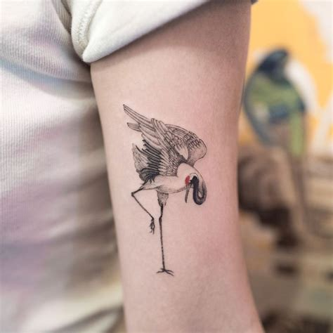 japanese crane tattoo best 25 crane ideas on japanese crane